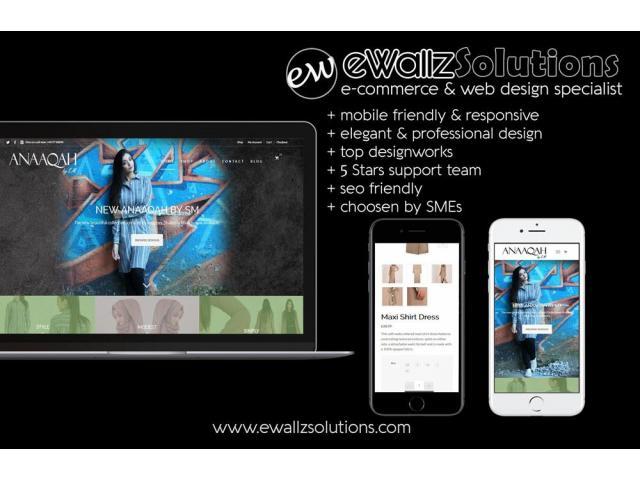 eWallz Web Design Shah Alam